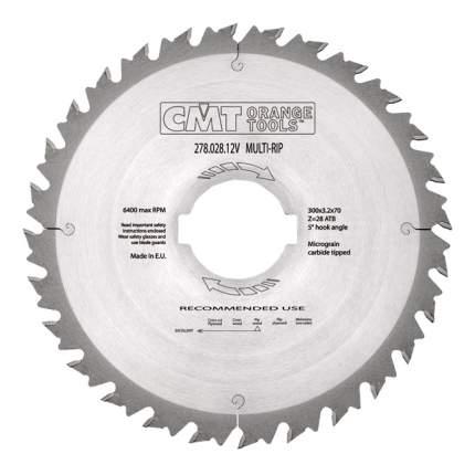 Пильный диск по дереву  CMT 278.028.12V