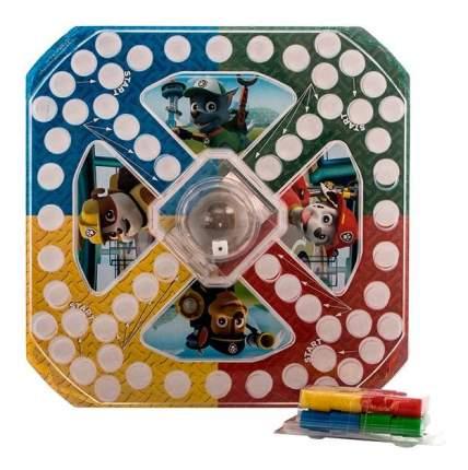 Настольная игра Paw patrol 6028796 Щенячий патруль настольная игра с кубиком и фишками