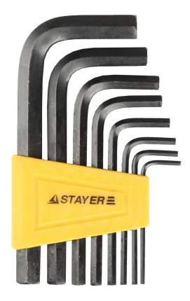 Набор шестигранных ключей Stayer 27405-H8