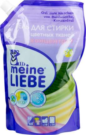 Гель-концентрат Meine Liebe для цветных тканей cменный блок 750 мл