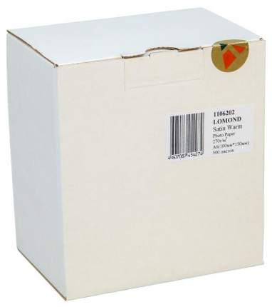 Фотобумага для принтера LOMOND A6 270г/кв.м сатин 500 л