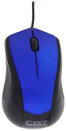 Проводная мышка CBR CM 100 Blue/Black