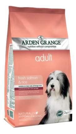 Сухой корм для собак Arden Grange Adult, лосось, рис, 2кг