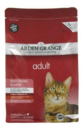 Сухой корм для кошек Arden Grange, беззерновой, курица, картофель, 0,4кг