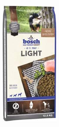 Сухой корм для собак Bosch Light, для склонных к полноте, домашняя птица, 12,5кг