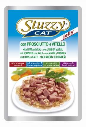 Влажный корм для кошек Stuzzy Cat, ветчина, телятина, 24шт, 100г