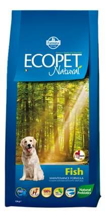 Сухой корм для собак Farmina Ecopet Natural Maxi, для крупных пород, рыба, 12кг