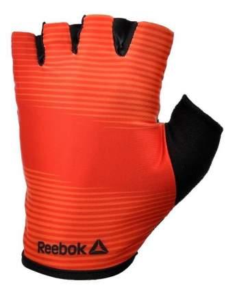 Перчатки для тяжелой атлетики и фитнеса Reebok RAGB-11237RD, красные/черные, XL