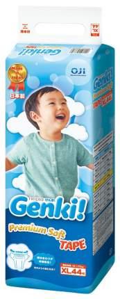 Подгузники Genki Premium Soft XL (12-17 кг), 44 шт.