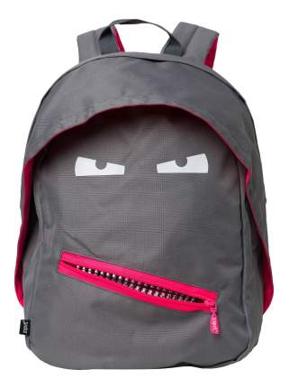Рюкзак ZIPIT GRILLZ BACKPACKS серый