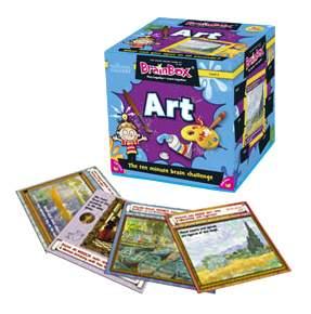 Семейная настольная игра Brain Box Сундучок знаний Art