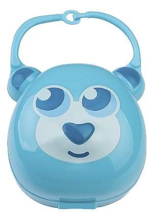 Футляр для пустышки BabyOno Мишка голубой