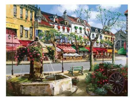 Раскраска по номерам Белоснежка Европейский городок