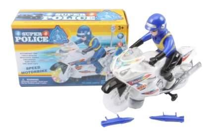 Мотоцикл Shantou с фигуркой со светом и звуком на батарейках 393-5