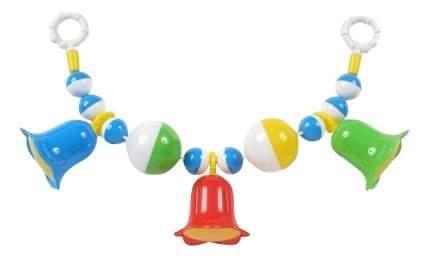 """Подвесная игрушка STELLAR """"Погремушка с шариками и колокольчиками"""" 01544"""
