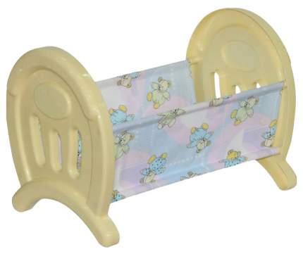 Мебель для кукол Полесье Кроватка сборная 55996