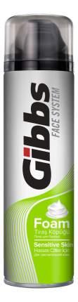 Пена для бритья GIBBS Sensitive 200 мл