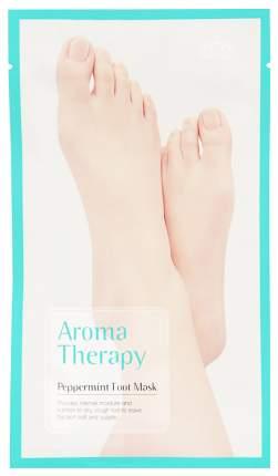 Маска для ног ROYAL SKIN Увлажняющие носки Aromatherapy Peppermint