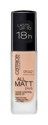 Тональный крем Catrice All Matt Plus Shine Control Make Up Vanilla Beige №015 30 мл