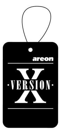 Ароматизатор Areon refreshment x version, бабл гам