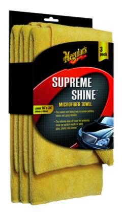 Микрофибровое полотенце (Supreme Shine Microfiber Towel) 40х63 см. 3 штуки. X2020EU
