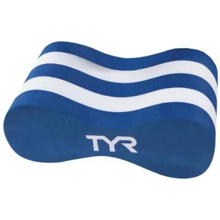 Колобашка для плавания TYR Junior Pull Float LJPF голубая/белая (462)