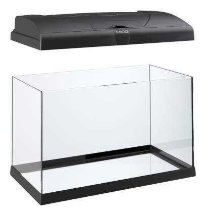 Аквариум для рыб Ferplast 80 Capri, влагозащитная поверхность, черный, 100 л