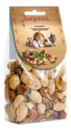 Лакомство для грызунов Закрома, угощение ореховое, 100 г