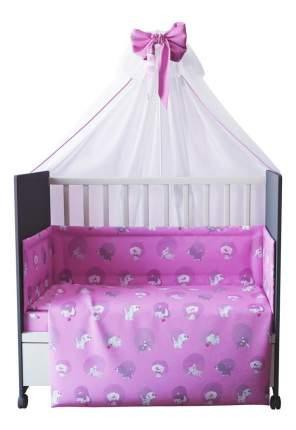 Комплект детского постельного белья Тополь Фея Наши друзья розовый