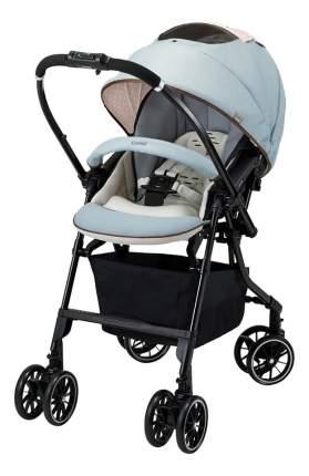 Прогулочная коляска Combi Mechacal Handy Auto 4 cas голубая