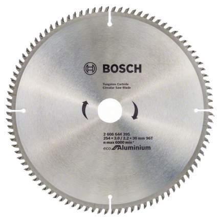 Пильный диск по дереву Bosch ECO ALU/Multi 254x30-96T 2608644395