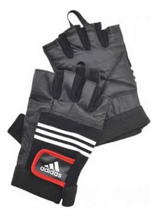 Перчатки для тяжелой атлетики и фитнеса Adidas ADGB-12124, черные, S/M