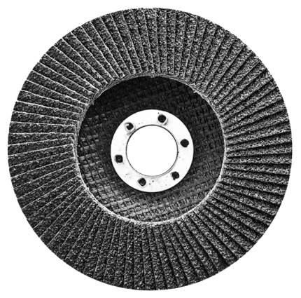 Круг лепестковый для шлифовальных машин СИБРТЕХ Р 80 115 х 22,2 мм 74079