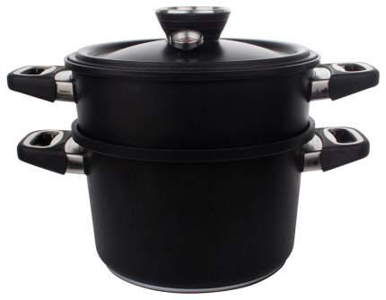 Пароварка AMT Gastroguss 1424-SET Черный