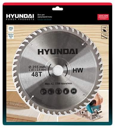 Диск пильный Hyundai D255 48T D30mm/20мм/25,4мм (25/50) 205209