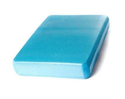 Опорный блок для йоги RamaYoga из EVA-пены 30 x 20 x 5 см, голубой 687756