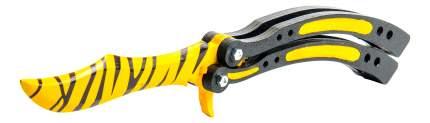 Игрушечный нож-бабочка MASKBRO Зуб тигра