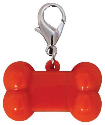 Медальон на ошейник Triol косточка USB, размер 3см