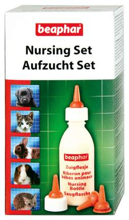Бутылочка с соской для щенков и котят Beaphar Nursing Set, пластик