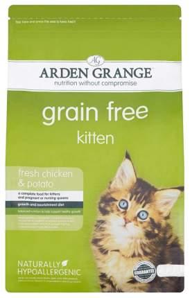 Сухой корм для котят Arden Grange Kitten беззерновой, курица, 8кг