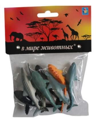 Фигурка животного 1TOY В мире животных Акулы и киты