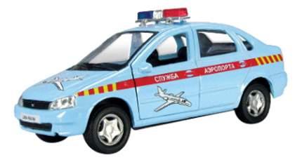 Коллекционная модель Lada kalina служба аэропорта Autotime 11499 1:34