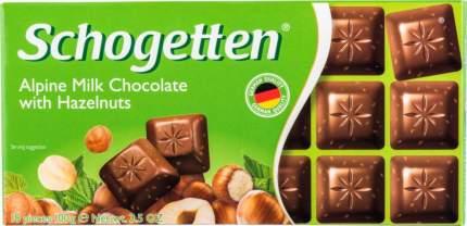 Шоколад молочный Schogetten с лесными орехами 100 г