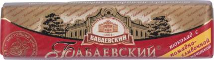 Шоколадный батончик Бабаевский темный с помадно-сливочной начинкой 50 г
