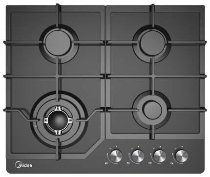 Встраиваемая варочная панель газовая Midea MG684TGB Black