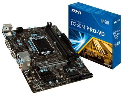 Материнская плата MSI B250M PRO-VD