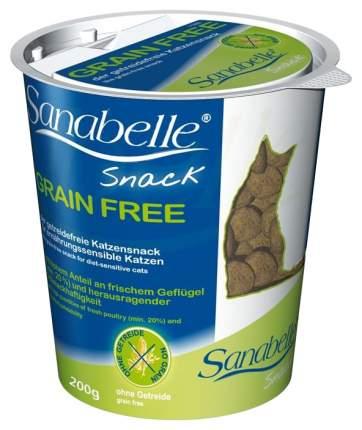 Лакомство для кошек Sanabelle Grain Free Snack, птица, 1шт, 0,2кг