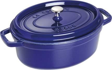 Staub Кокот овальный, 29 см (4.25 л), фиолетовый
