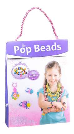 Набор бусин для рукоделия Pop Beads фиолетовый Gratwest Д78589