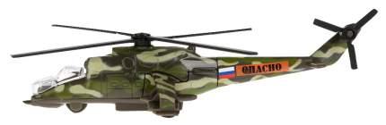 Вертолет ТЕХНОПАРК МИ-24 металлический SB-16-58WB